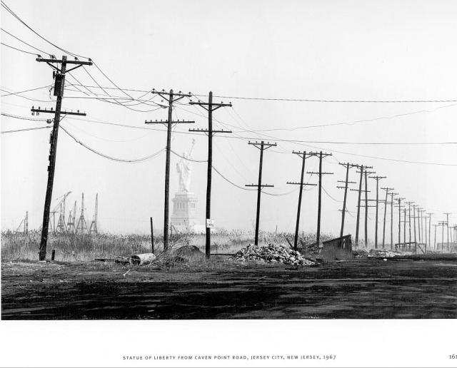 David Plowden (1967) Statue of Liberty from Caven Point Road, NJ