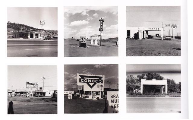 Ed Ruscha (1962) Gas stations