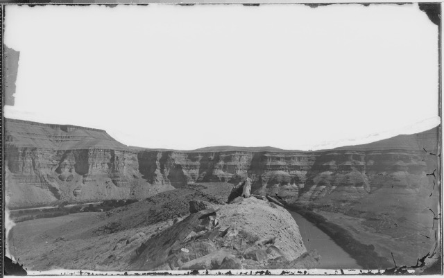 W.H. Jackson (1871) Green River Canyon of Desolation