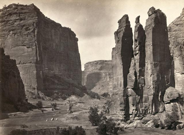 Timothy O'Sullivan (1876) Cañón de Chelle