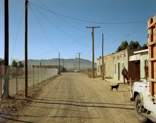 Stephen Shore (1975) Presidio, Texas