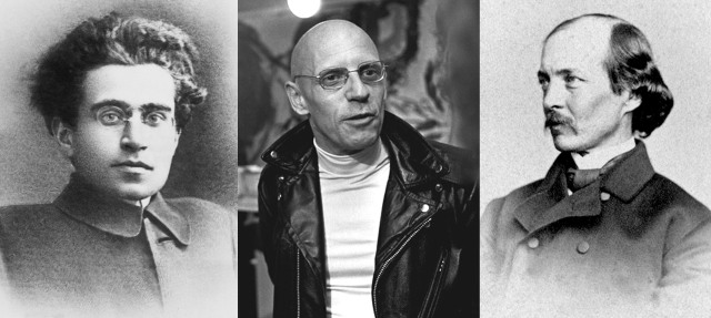 Antonio Gramsci, Michel Foucault & Frederick Law Olmsted